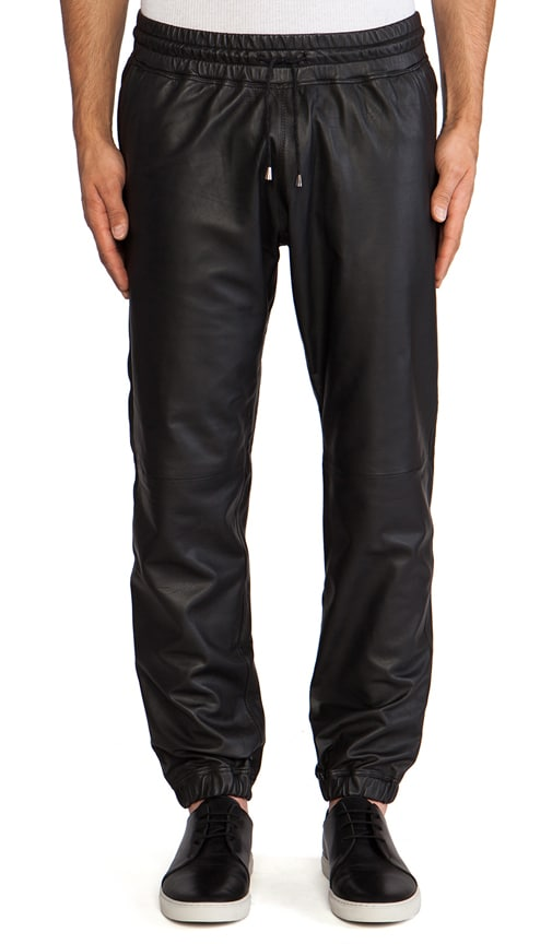 Leather Cuff Pant