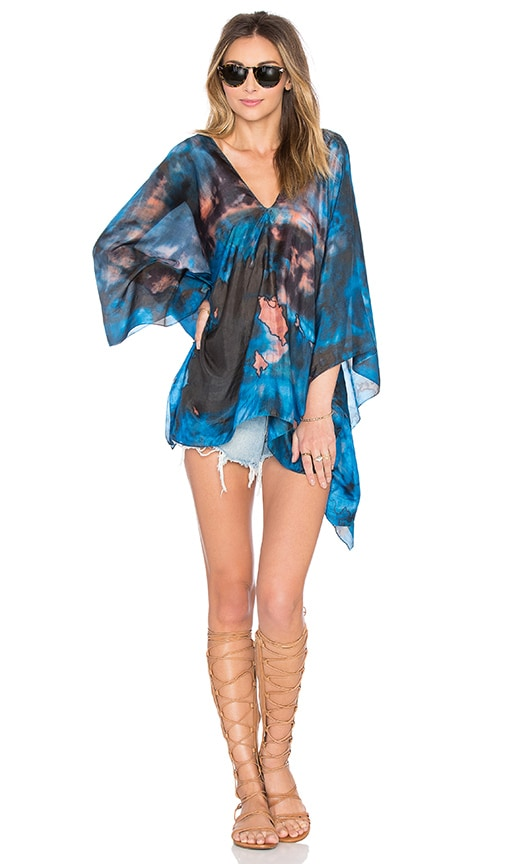 Mother Earth Poncho Top