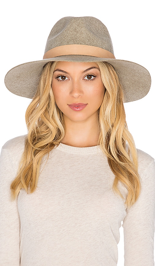 Buenos Aires Natural Leather Wrap Hat