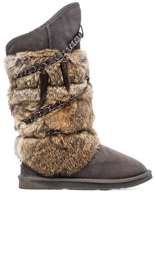 Rabbit Atilla Fur Boot