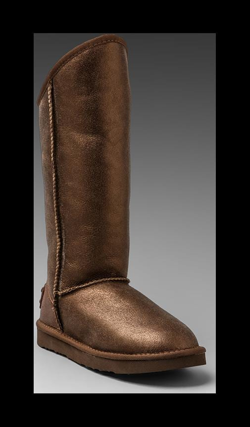 Cosy Tall Vintage Metallic Boot