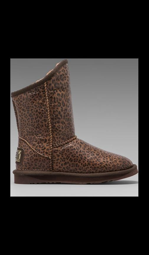 Cosy Short Boot with Sheepskin