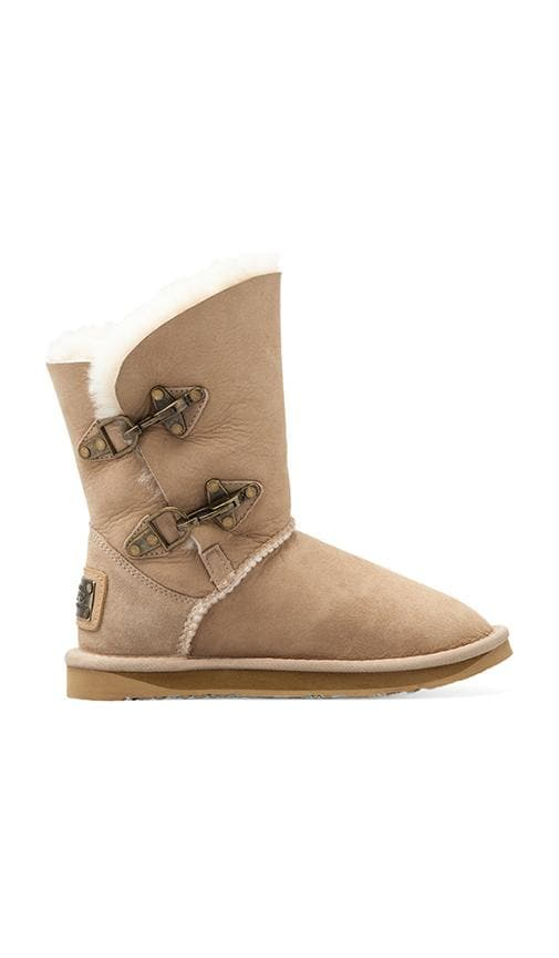 Renegade Short Boot with Sheep Shearling