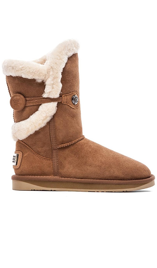 Nordic Shearling Short Boot