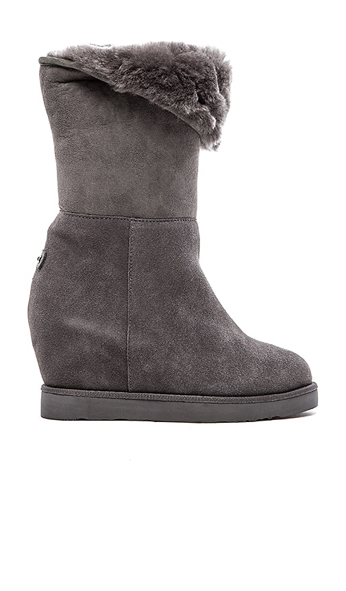 Australia Luxe Collective Cosy Tall Wedge in Grey