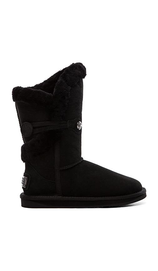 Nordic Shearling Short Boot with Fur
