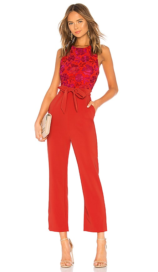 19d6b257be Lovers + Friends Gardanome Jumpsuit in Magenta   Red