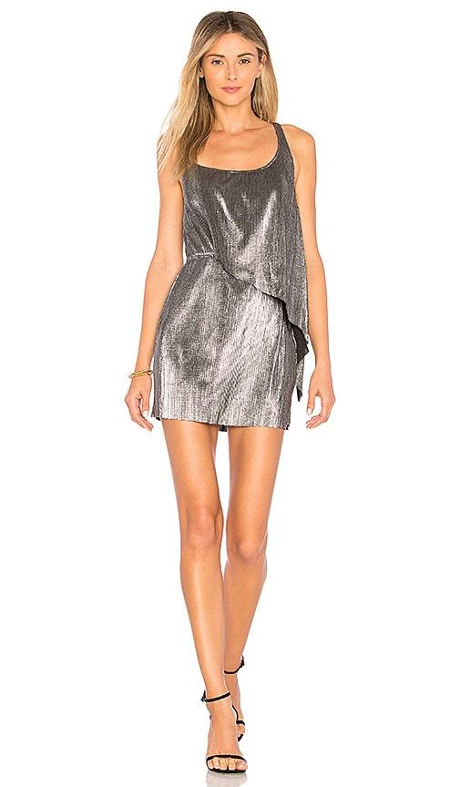 Lovers + Friends Mabel Dress in Silver |