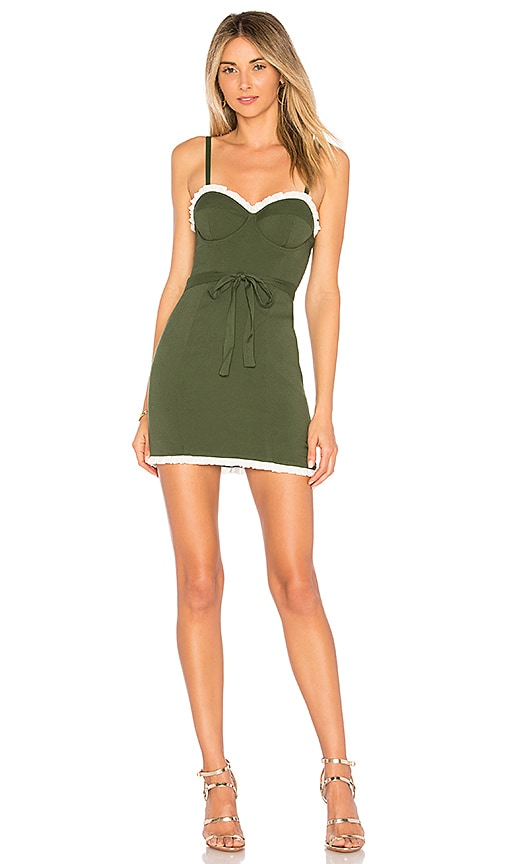 Lovers + Friends x REVOLVE Anya Dress in Green