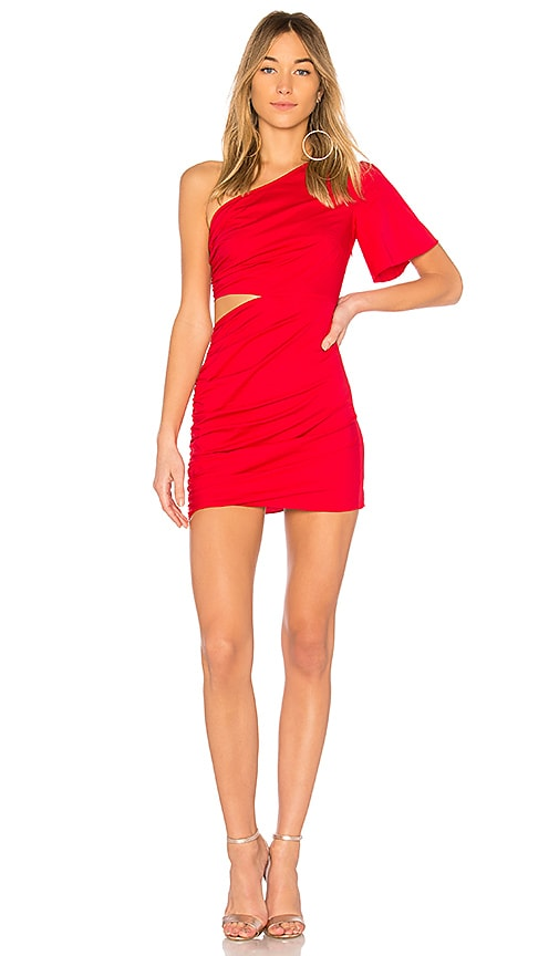 Lovers + Friends Paige Dress in Red