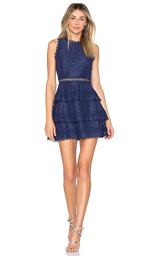 Lovers + Friends Papaya Dress in Navy