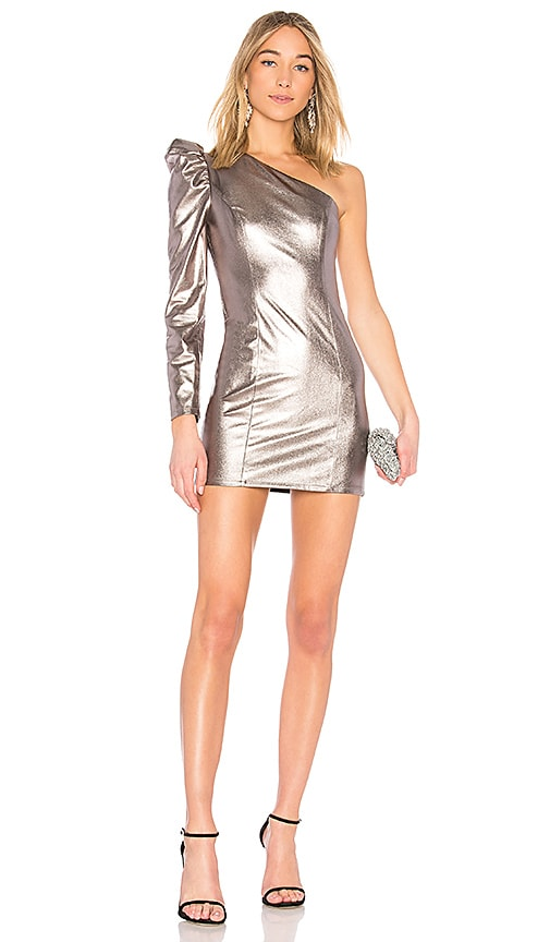Lovers + Friends Mallory Dress in Silver