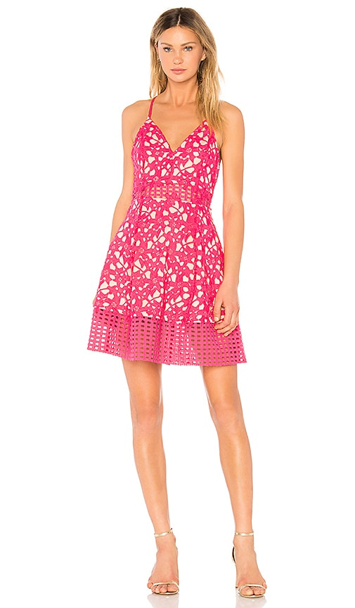 Lovers + Friends Bellini Dress in Pink