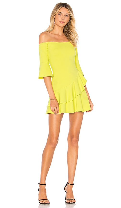 Lovers + Friends Riley Dress in Yellow
