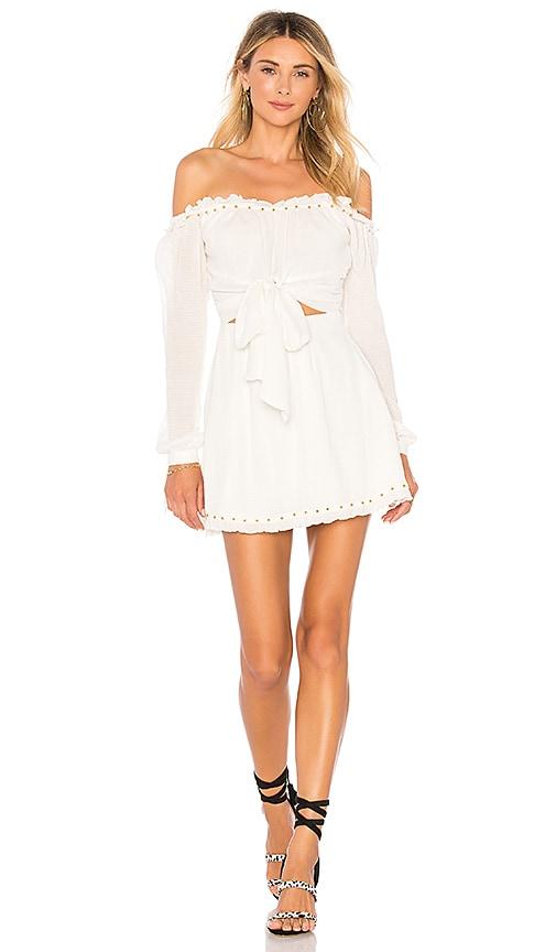 Lovers + Friends Sunrise Dress in White