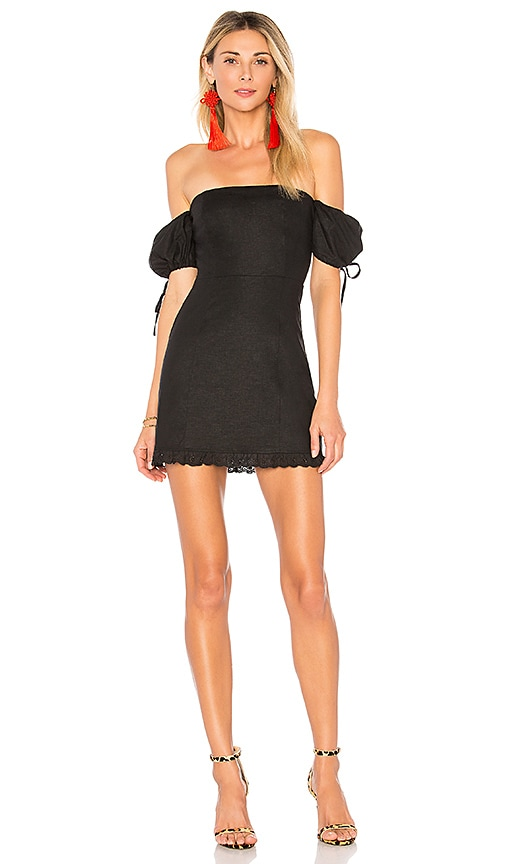 Lovers + Friends Bethany Dress in Black