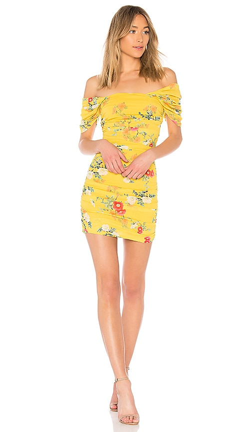 Lovers + Friends Joss Dress in Yellow