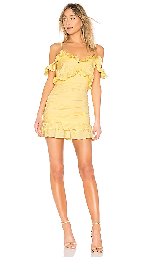 Brandy Mini in Yellow. - size M (also in L,S,XS) Lovers + Friends