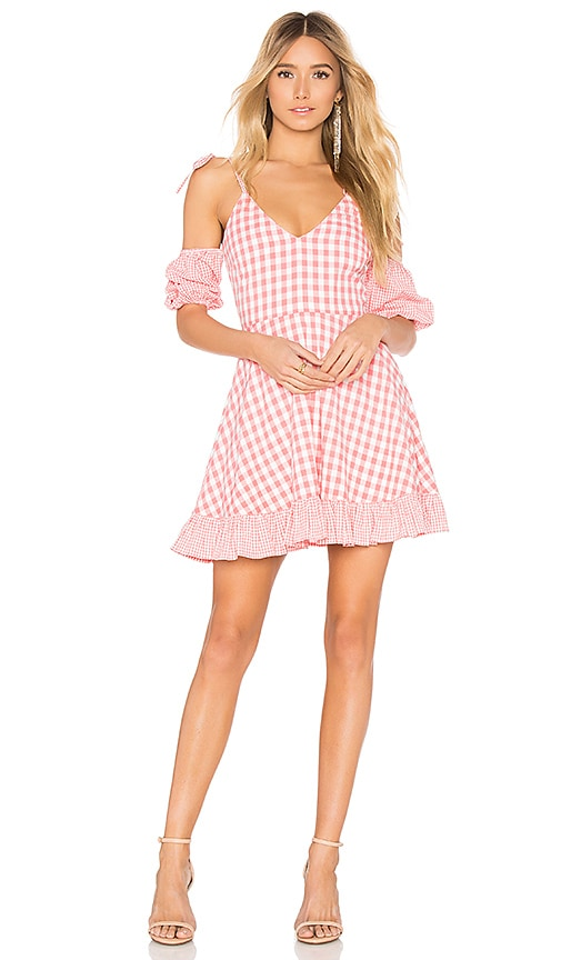 Lovers + Friends Christine Dress in Pink