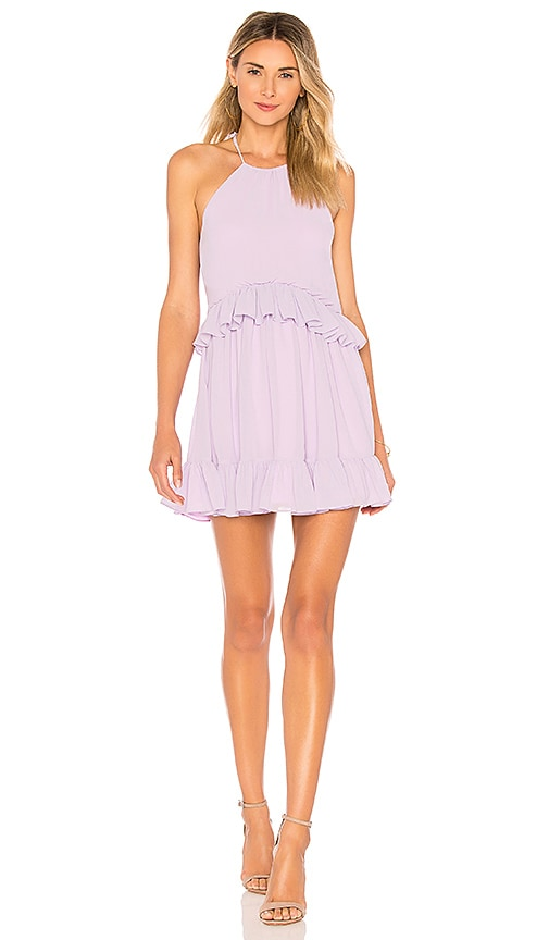 Banks Dress in Lavender. - size L (also in M,S,XL,XS,XXS) Lovers + Friends