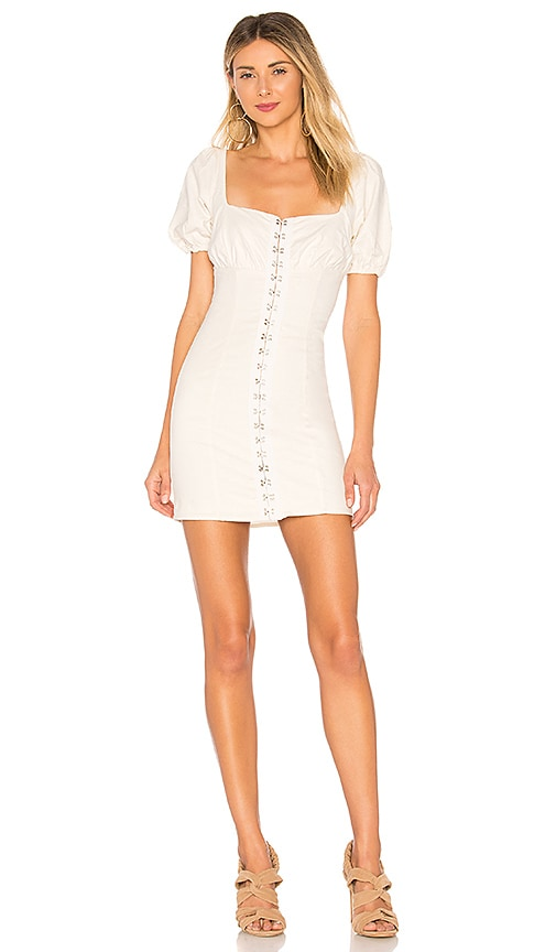 Lovers + Friends Jeanette Dress in Ivory