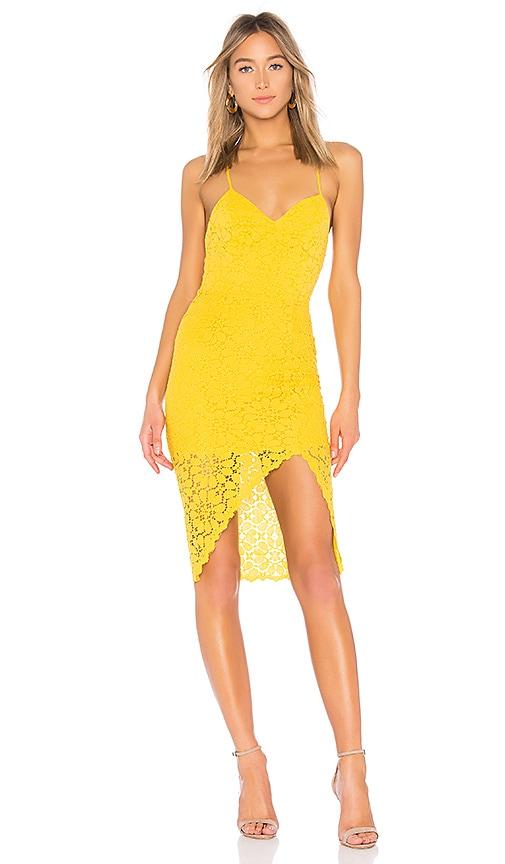 Lovers + Friends Skylight Dress in Mustard