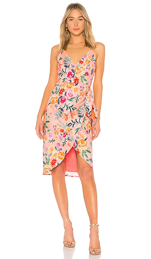 Lovers + Friends Orchid Dress in Pink