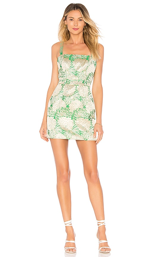 Michelle Dress in Green. - size XS (also in M,S) Lovers + Friends