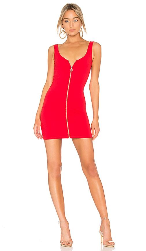 Lovers + Friends Brinley Dress in Red