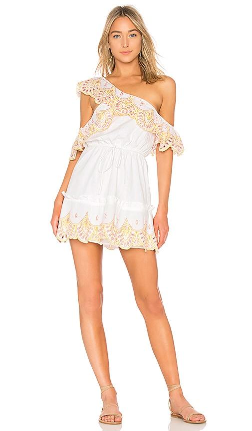 Lovers + Friends Robin Dress in White