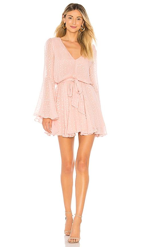 Lovers + Friends Lila Dress in Blush