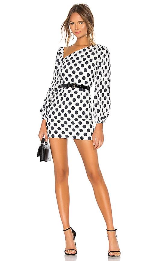 Lovers Friends Andy Mini Dress In Black White Revolve
