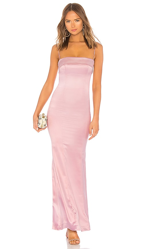 Anzen Gown in Pink. - size L (also in M,S,XL,XS,XXS) Lovers + Friends