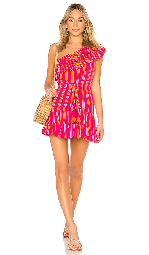 Lovers + Friends Amity Mini Dress in Pink