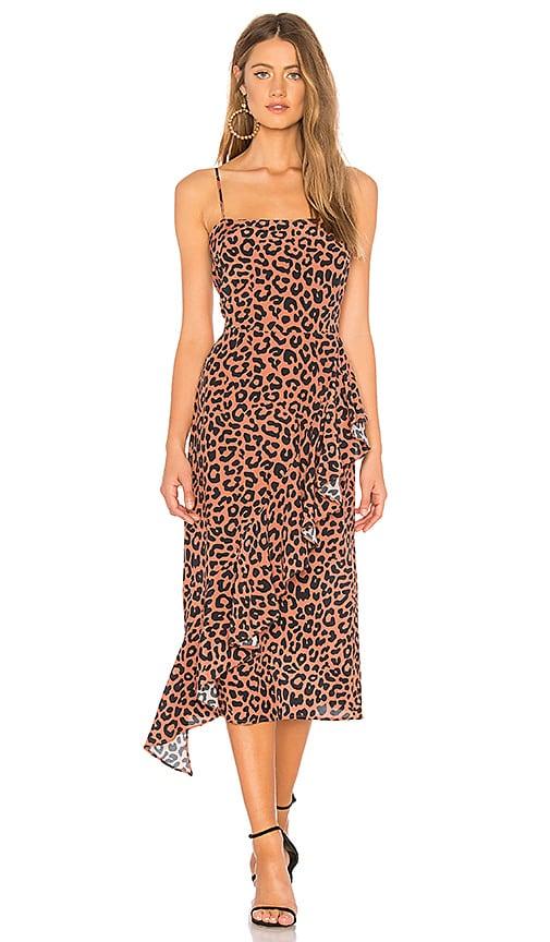 a89d814ba2c8 Lovers + Friends Ellie Midi Dress in Bold Cheetah | REVOLVE