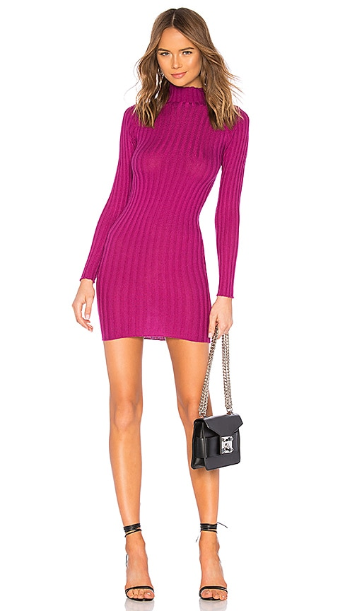 Lovers + Friends Be Fierce Dress in Magenta | REVOLVE
