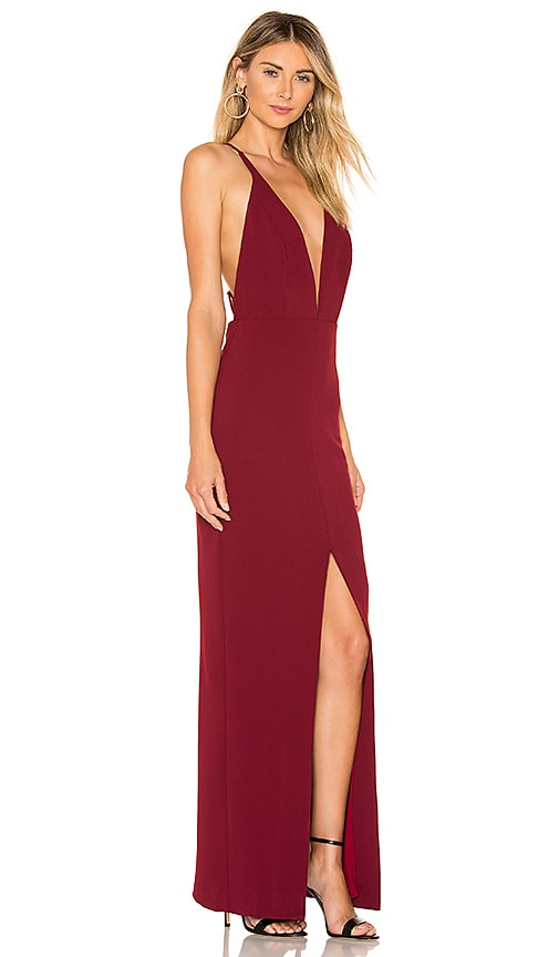 Pinot Noir Gown by Lovers + Friends