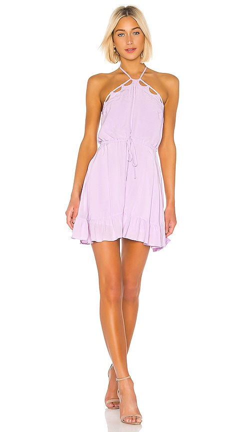 Lovers + Friends Wiley Mini Dress in Lilac | REVOLVE