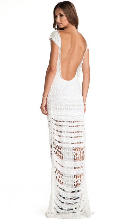 Farah Crochet Maxi Dress