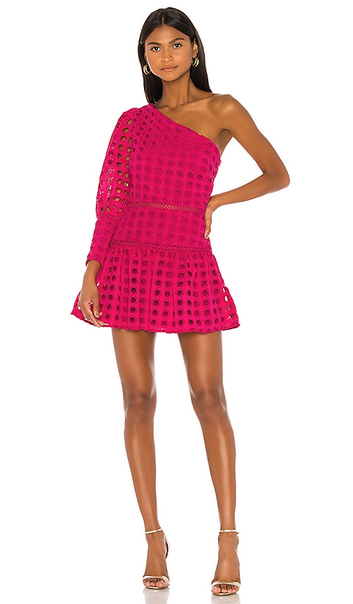 Lovers + Friends Isadora Mini Dress in Magenta | REVOLVE