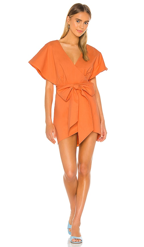 Lovers Friends Leigh Dress In Sherbet Orange Revolve Ethically made in canada with sustainable and eco friendly from dress, to tunic, to top, the revolve dress ii allows you to travel with versatility and ease. revolve