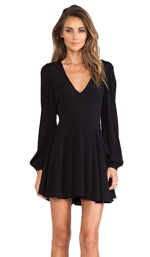 Lovers + Friends Shimmy Dress in Black