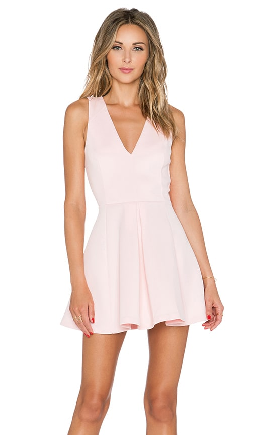 Lovers + Friends x REVOLVE Geneva Dress in Pink