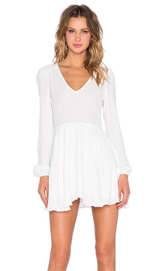 Lovers + Friends x REVOLVE Shimmy Dress in White