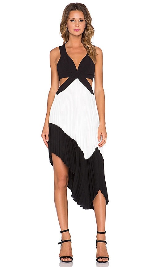 x REVOLVE Stark Pleated Dress