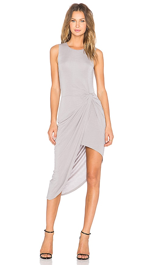 Lovers + Friends x REVOLVE Jenna Wrap Dress in Gray