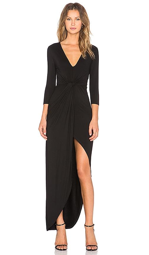 Lovers + Friends Sundance Maxi Dress in Black