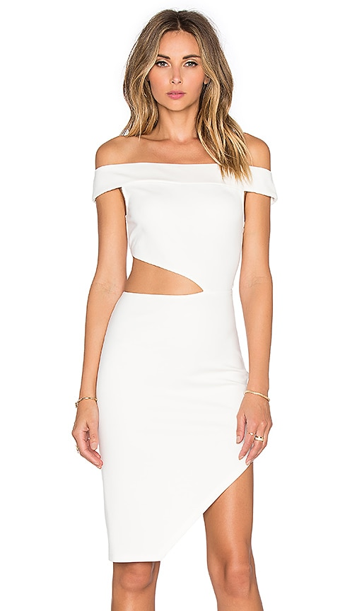Lovers + Friends x REVOLVE Complex Off The Shoulder Dress in White