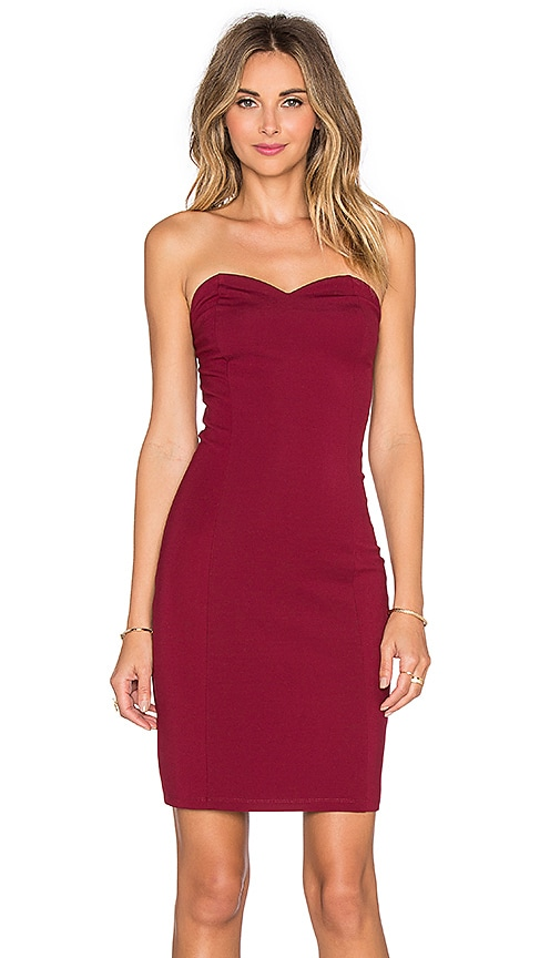 x REVOLVE Strapless Staple Dress