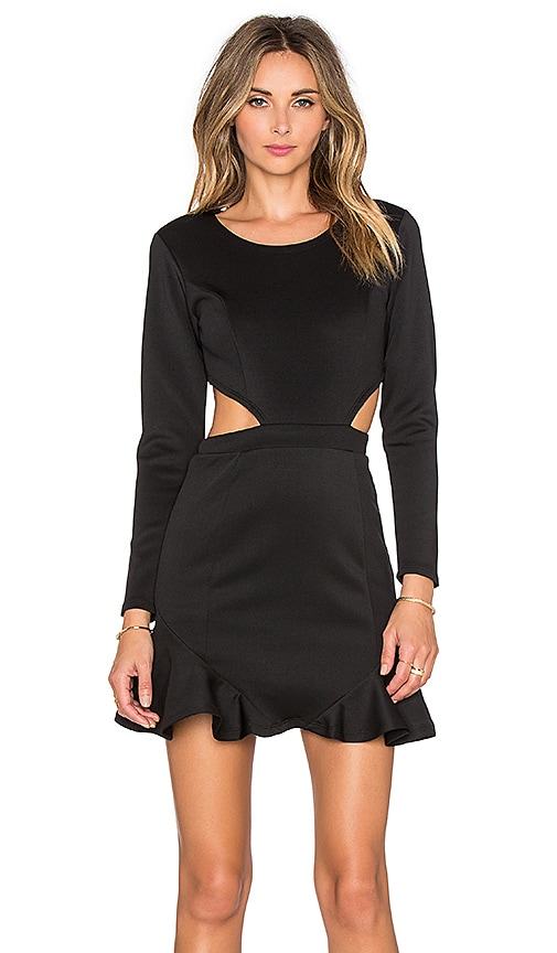 Lovers Friends X Revolve Eternal Long Sleeve Dress In Black Revolve Check our latest styles of dresses such as long sleeve at revolve free shipping for orders above $100 usd. x revolve eternal long sleeve dress